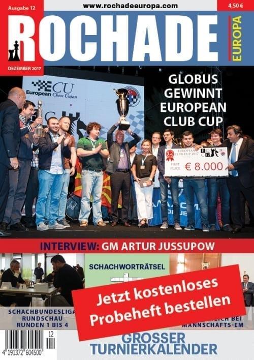 Rochade Schachzeitung Probeheft