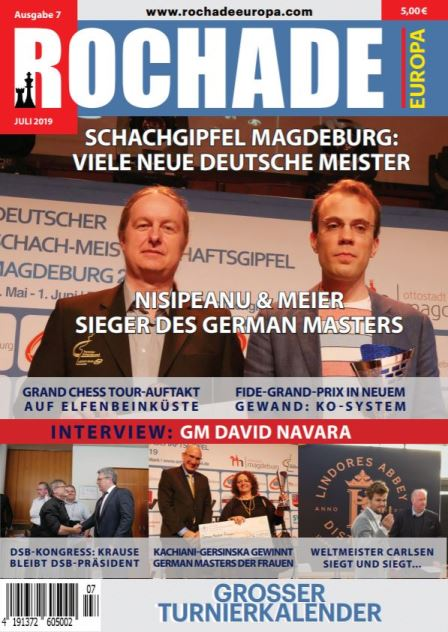 rochade_schachzeitung_2019_07_cover