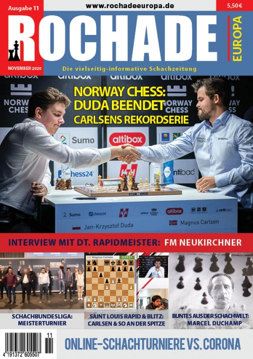 rochade_schachzeitung_2020_11_cover