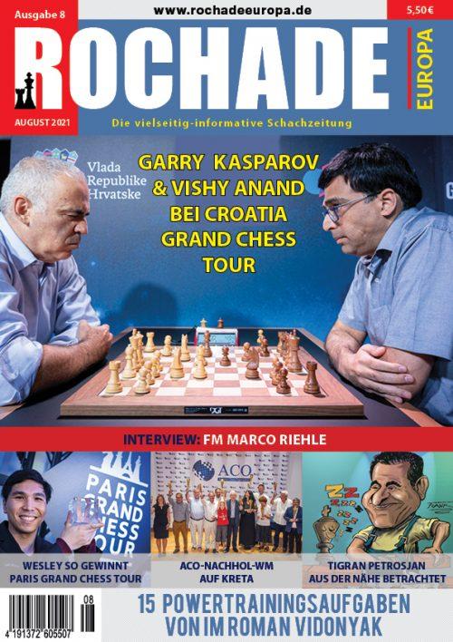 rochade_schachzeitung_2021_08_cover