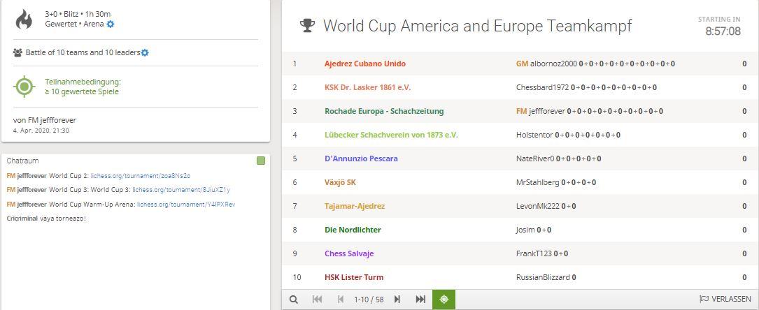 Worldcup Lichess