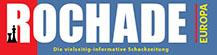 Rochade Europa – Schachzeitung Logo